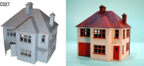 Dapol C027 - OO Detached House Kit